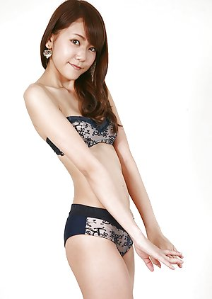 Asian Lingerie pics with Naked Asian Women